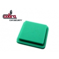 button for control Cobra Goldline green