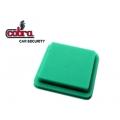 pulsador para mando Cobra Goldline verde