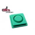 pulsador para mando alarma Cobra Goldline Click verde