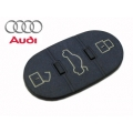 BUTTONS OF RUBBER FOR REMOTE CONTROL AUDI 3 PUSH