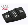 BUTTONS OF RUBBER FOR REMOTE CONTROL AUDI A6 3 PUSH