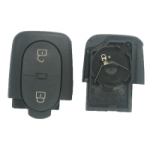 Carcasa Para Telemando Audi de 2 Botones