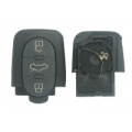 Housing For Remote Control Audi of 3 Buttons