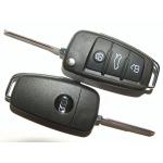 Carcasa Plegable para Telemando Audi 3 Botones