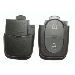 Carcasa para Telemando Plegable Audi de 2 Botones