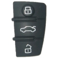 Plastic Panel For Housing Audi 3 Buttons