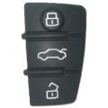 Botonera de Plastico Para Carcasa Audi 3 Botones