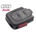 carcasa para mando Audi A6 de 4 botones