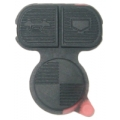 Rubber Keypad of 3 Buttons For Remote BMW