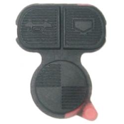 Botonera de Goma Para Mando BMW de 3 Botones