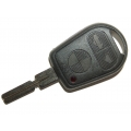 BMW 3 Button Remote Key Case HU58 Old Style For E38
