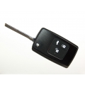 Flip Remote Key Case For Buick Excelle With Metal Panel