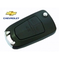 3-button remote shell folding key for Chevrolet Cruze