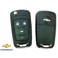 Chevrolet Cruze housing for 4-button remote control