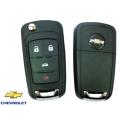 Chevrolet Cruze carcasa para telemando de 4 botones