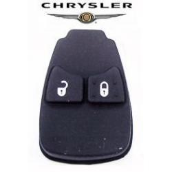 Botonera de Goma de 2 Botones Para Telemando Chrysler