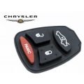 RUBBER BUTTONS FOR REMOTE CONTROL OF 4 PUSH-BUTTONS CHRYSLER