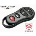 carcasa para mando Chrysler de 4 botones