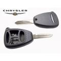 carcasa con espadin para mando Chrysler de 4 botones