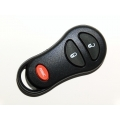Chrysler / Jeep 3 Button Remote Keylees Case