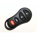 Chrysler / Jeep 4 Button Remote Keylees Case