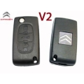 Housing For Remote Control Citroen C4 Folding