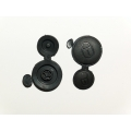 2 Rubber Keypad For Remote Control Citroen and Peugeot