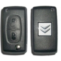 housing for 2-button remote citroen