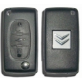 folding housing for remote control citroen 3 buttons