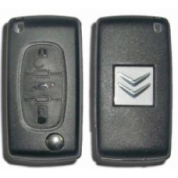 Carcasa Citroen Para Mando Plegable 3 Botones