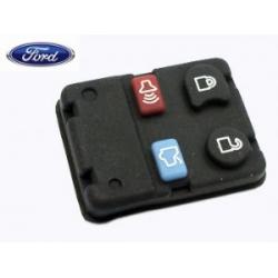 botones de goma para mandos Ford (furgonetas) de 4 pulsadores