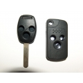 Flip Remote Key Case For Honda 3 Button Remote Key Accord Style