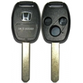 Housing For Remote Control Honda of 3 Buttons