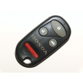 Honda 3+1 Panic Button Remote Keylees Case (USA Style)