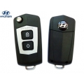 remote housing for the Hyundai Santa Fe 2, 2 buttons