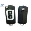 carcasa para telemando del Hyundai Santa Fe 2, 2 botones