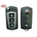 carcasa para telemando del Kia Cerato/Sportage/Tucson/Sonata 4 botones