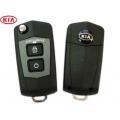 carcasa para telemando del Kia Forte 2 botones