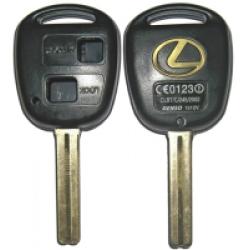 Carcasa Para Telemando Lexus de 2 Botones