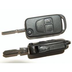 Carcasa Plegable Para Telemando de 3 Botones Para Mercedes-Benz