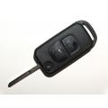 Carcasa Plegable Para Telemando Mercedes-Benz 2 Botones