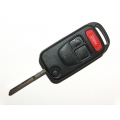 Benz 3+1 Panic Button Flip Remote Key Case