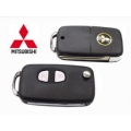original case with key for Mitsubishi Lancer 2 buttons