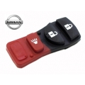 BUTTONS OF RUBBER FOR CONTROLS NISSAN TIIDA OF 3 PUSH