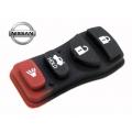 botones de goma para mandos Nissan y Chrysler de 4 pulsadores