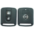 Nissan 2 Button Remote Casing Square