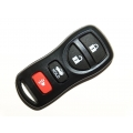 Nissan 4 Button Remote Keylees Case