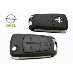 Carcasa Para Telemando Plegable Opel de 3 Botones