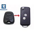 Housing For Adapt Control of Peugeot 307 With Fixed Key to Folding