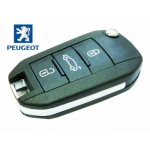 Telemando Con 3 Botones Para Peugeot 508